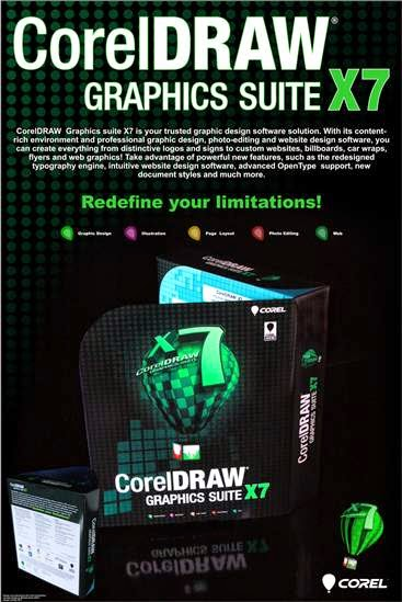 CorelDRAW Graphics Suite X7.5 32bits et 64bits